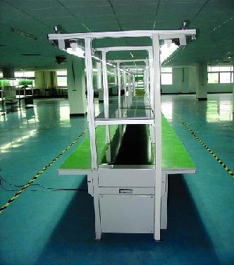 供应MP3流水线MP4组装线电子组装线装配生产线皮带线图片