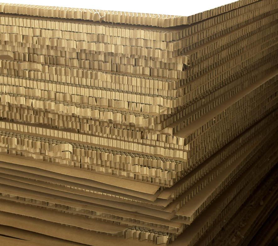 供应用于物流包装的中国优质蜂窝纸板,佛山蜂窝纸最新报价批发