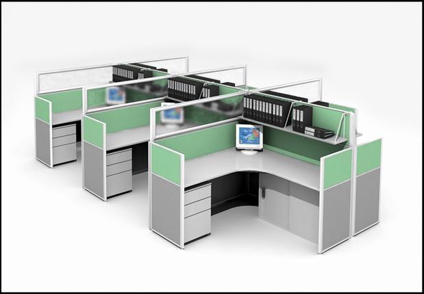 办公家具屏风|办公样板家具图|办公图片深圳办家具厂广州诺亚图片