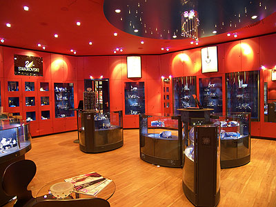 珠宝店设计首饰店设计就选戈者设计报价