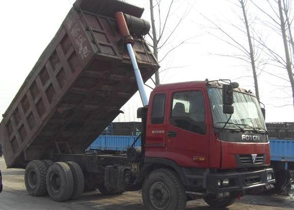 供应欧曼后八轮自卸车