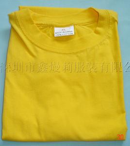 全棉广告衫-空白广告衫图片/全棉广告衫-空白广告衫样板图