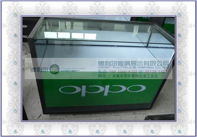 机柜图片 机柜样板图 OPPO经典款手机柜 东莞手机柜
