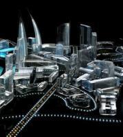 供应江门水晶模型设计,建筑模型制作,地产模型制作,升降模型制作