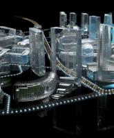 供应珠海水晶模型设计,筑模型制作,沙盘模型制作,数字模型制作