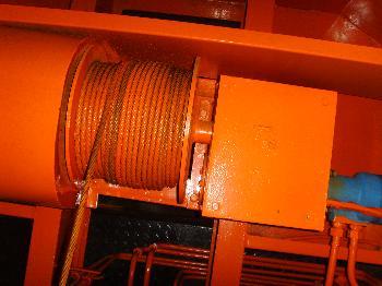 供应小型吊车液压卷扬机6吨吊车配件