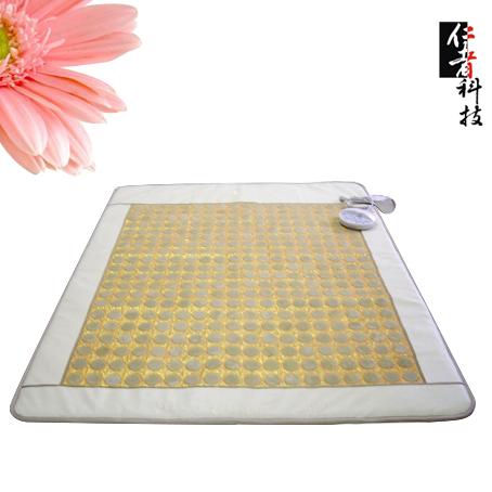 碳纤维加热技术锗石玉石床垫坐垫枕垫OEM专业贴牌批发