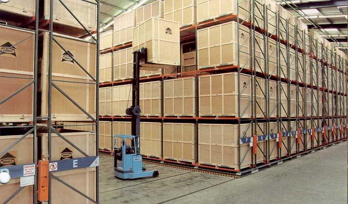 佛山地区货架-电力移动货架