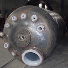 供应钢衬反应罐
