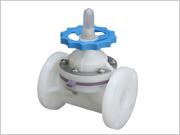 供應PVDF法蘭隔膜閥,塑料、塑膠閥門