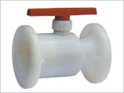 供应PVDF法蘭球阀,塑料、塑胶阀门