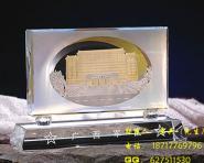 军事纪念品军人纪念品水晶纪念品图片