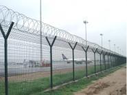 勾花网护栏镀锌钢喷塑护栏图片