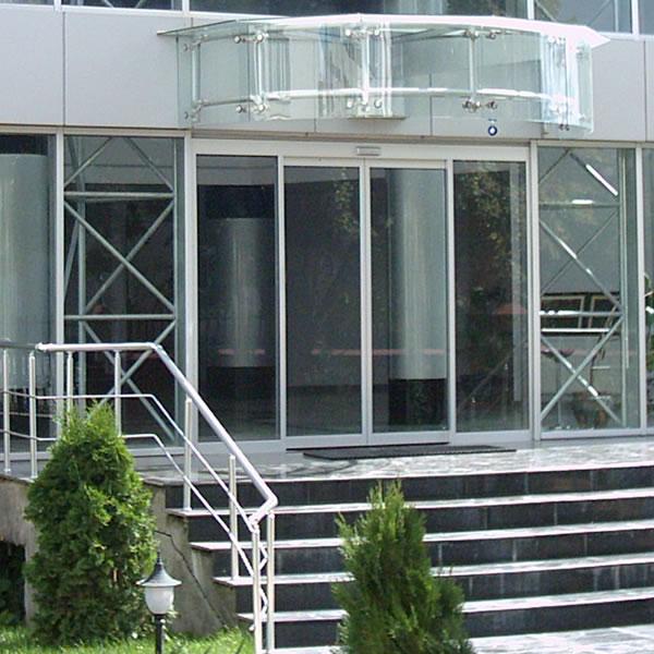 双扇平开玻璃门_北京安装双扇玻璃门定做玻璃门价格