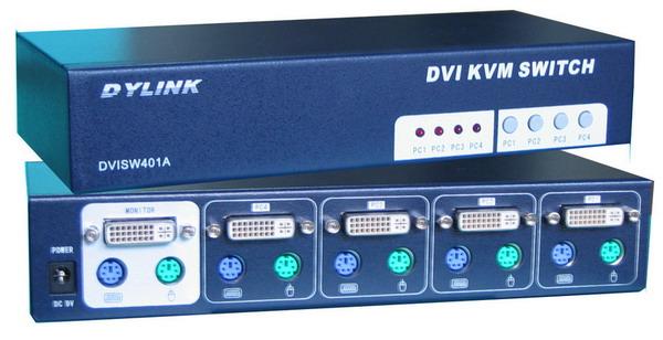 切换器图片 切换器样板图 DVI切换器PS2型2口4口8口 深圳...
