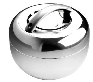 高档型苹果保温饭盒不锈钢饭盒双层便当饭盒批发