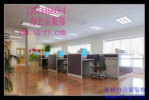 室装修上海办公厂房装修彩钢夹心板办公室天花板吊顶
