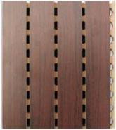 录音棚专用材料15MM槽木吸音板图片