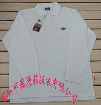 供应深圳订制POLO衫-长袖T恤衫图片